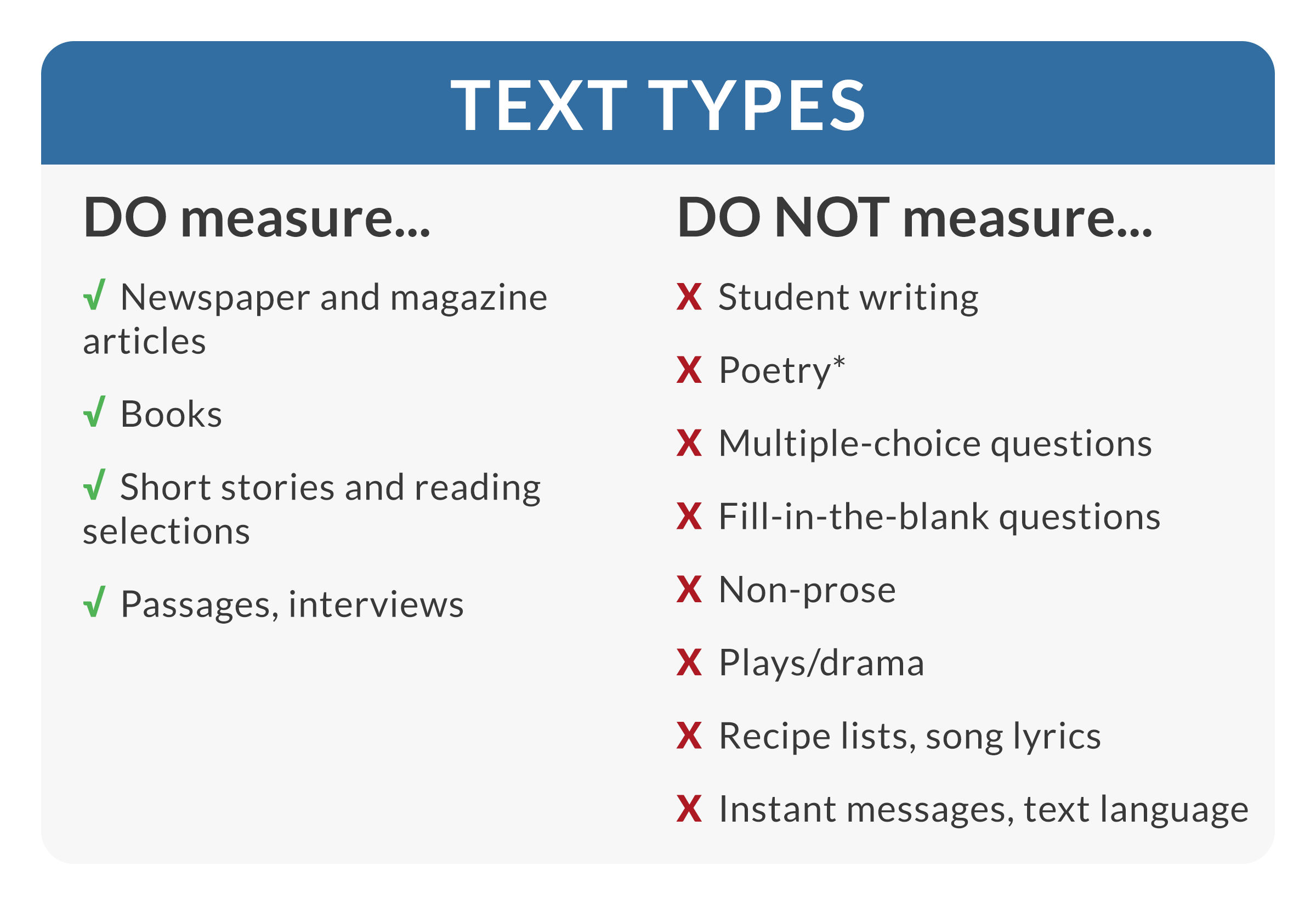 Free lexile analyzer the lexile analyzer will return an inaccurate lexile measure for other kinds of text follow these guidelines as you choose texts to measure nvjuhfo Gallery